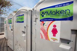 baños portables maken ecoamigables